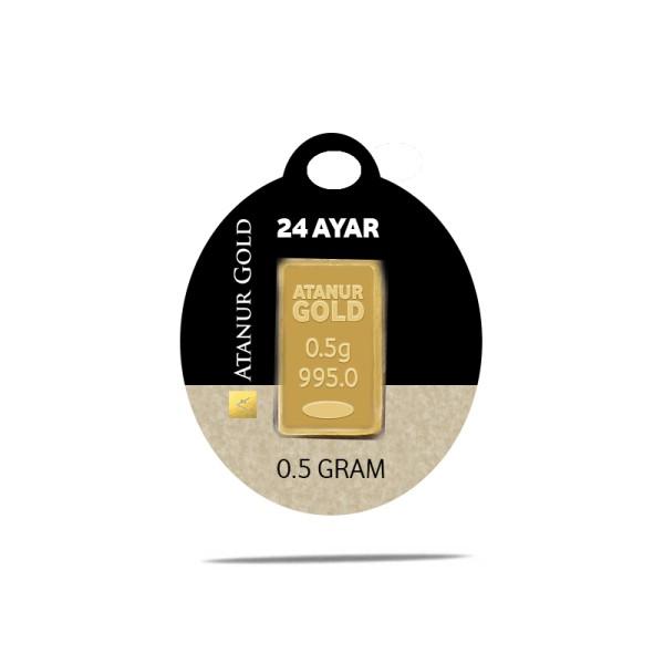 0.5 gr 24 Ayar Külçe Altın