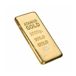 1000 gr 24 Ayar Külçe Altın