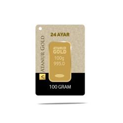 100 gr 24 Ayar Külçe Altın