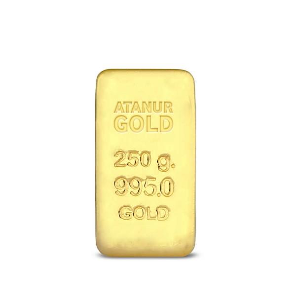 250 gr 24 Ayar Külçe Altın