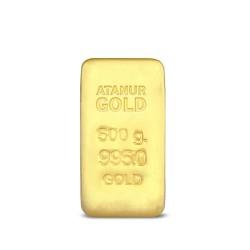 500 gr 24 Ayar Külçe Altın