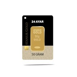 50 gr 24 Ayar Külçe Altın